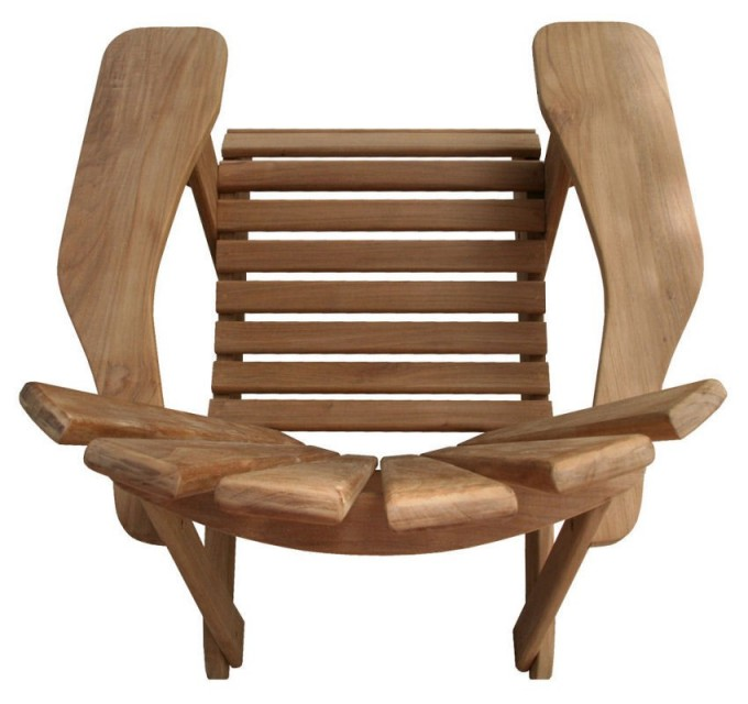 Charming Teak Adirondack Chairs For Patio Furniture Ideas