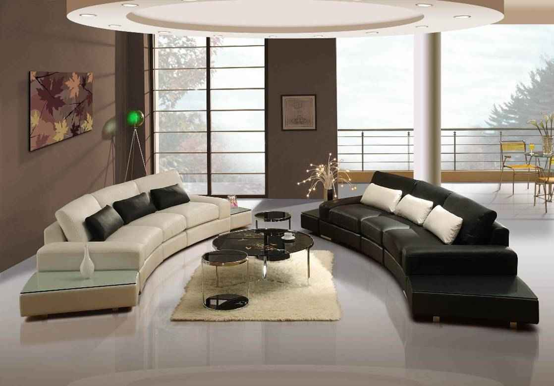 charming white and black cheap sectional sofas on white ceramics floor plus cream carpet and round table for living room decor ideas