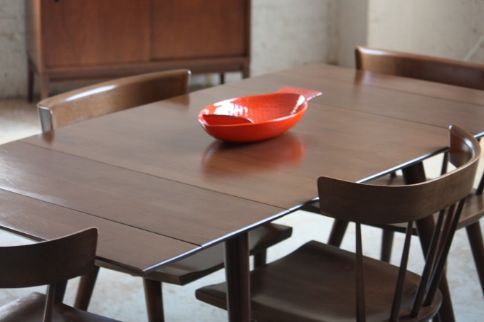 Charming Wooden Expandable Dining Table Set For Dining Room Furniture Ideas