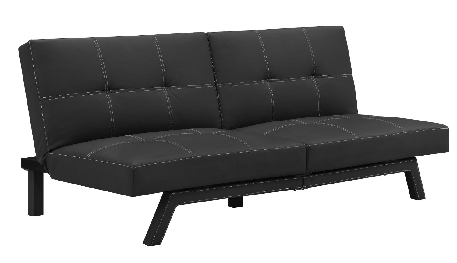 Cheap Futons In Black With Modern Design For Home Furniture Ideas