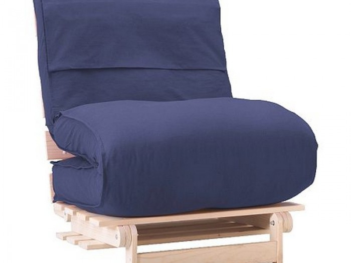 cheap futons in blue with wooden frame for home furniture ideas