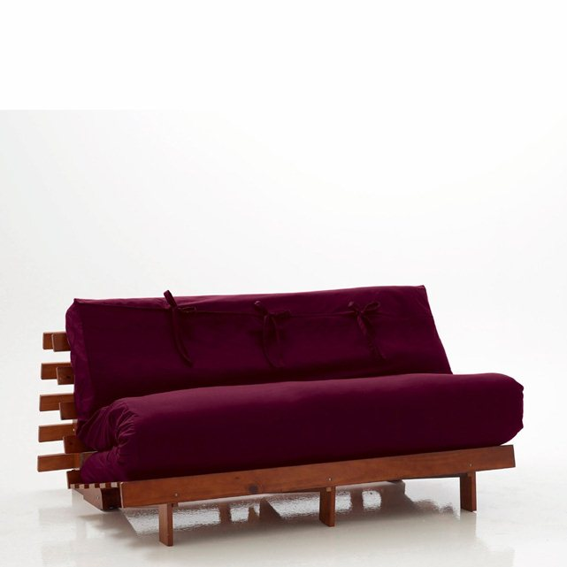 cheap futons in purple with wooden frame for home furniture ideas