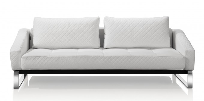 Cheap Futons In White With Cushions For Home Furniture Ideas