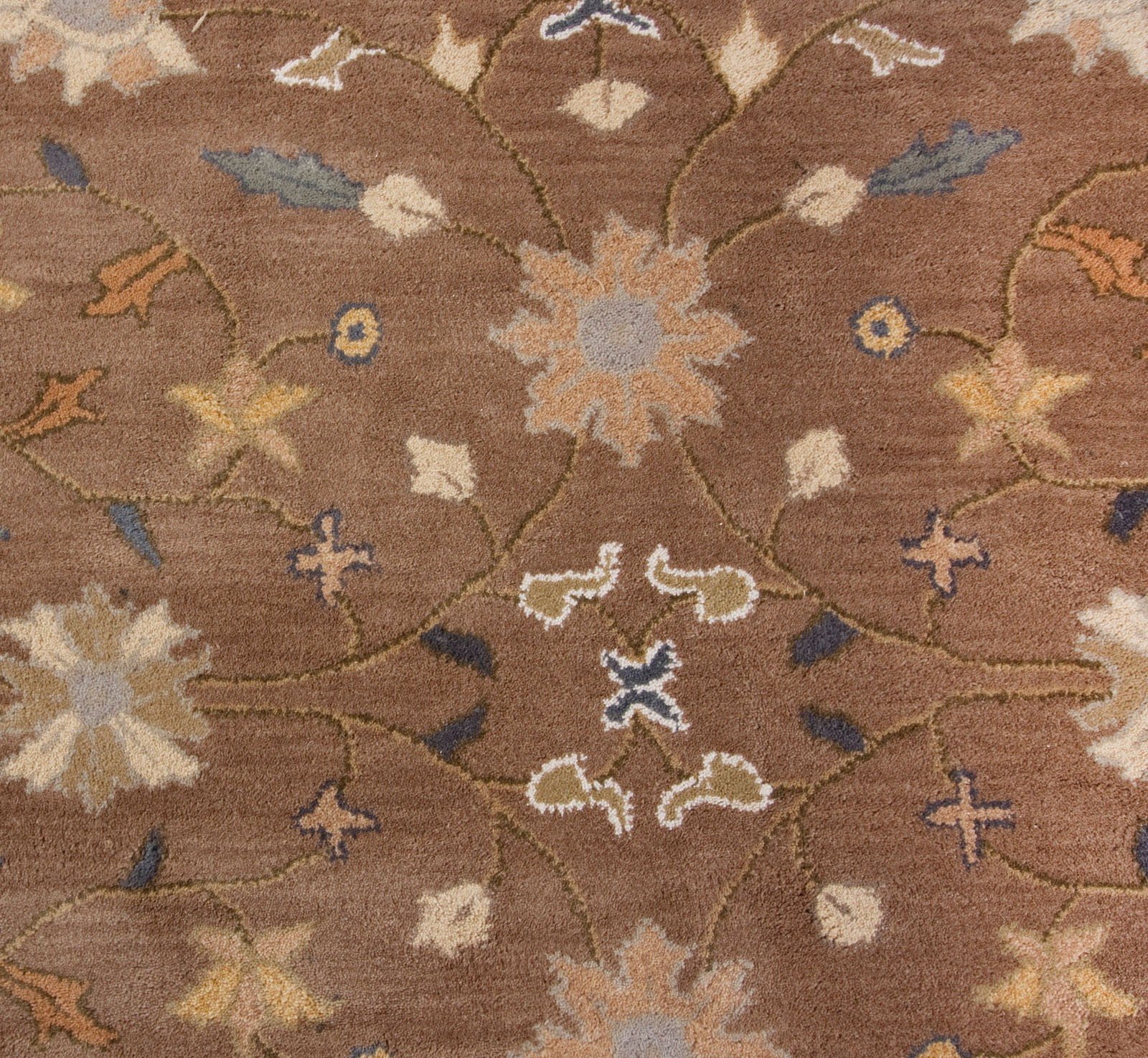 cheap lowes rugs in brown with floral motif for floor decor ideas