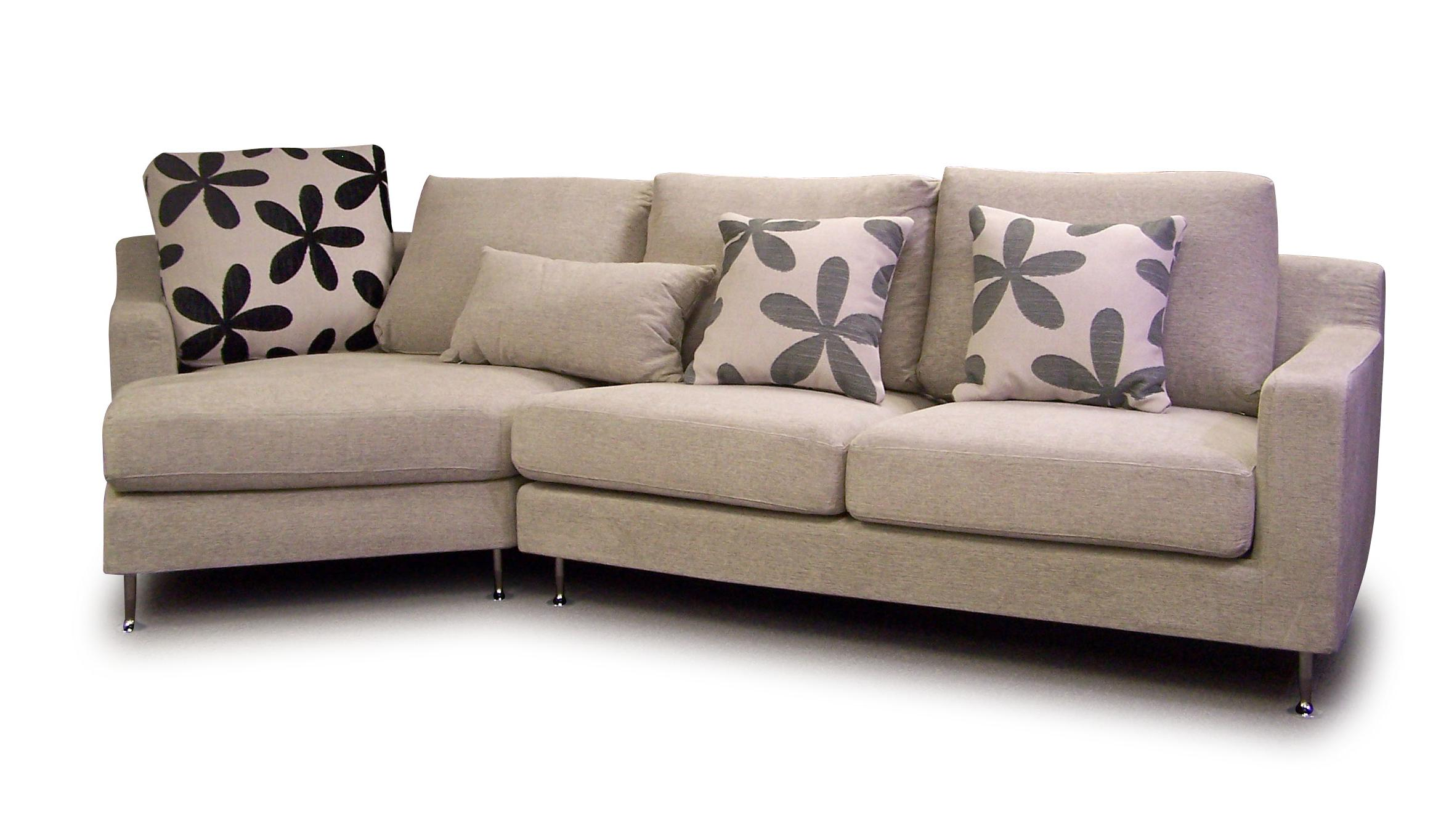 cheap sectional sofas in cream plus floral cushions for sofa ideas