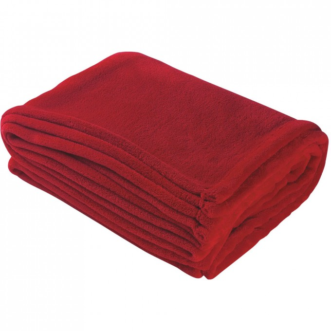 Chenille Blanket In Solid Red For Charming Blanket Ideas