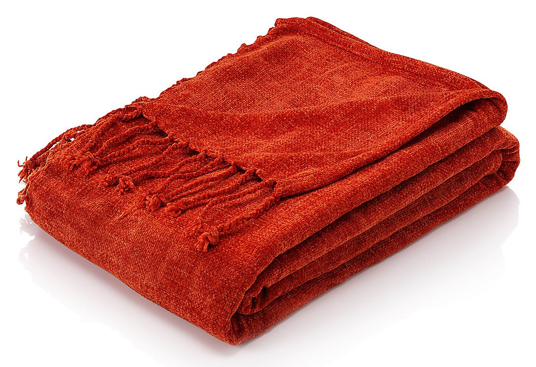 chenille blanket throw in red for blanket ideas