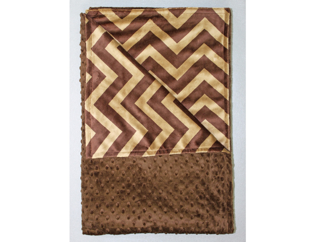 Chenille Blankets In Solid Brown And Chevron For Blanket Ideas