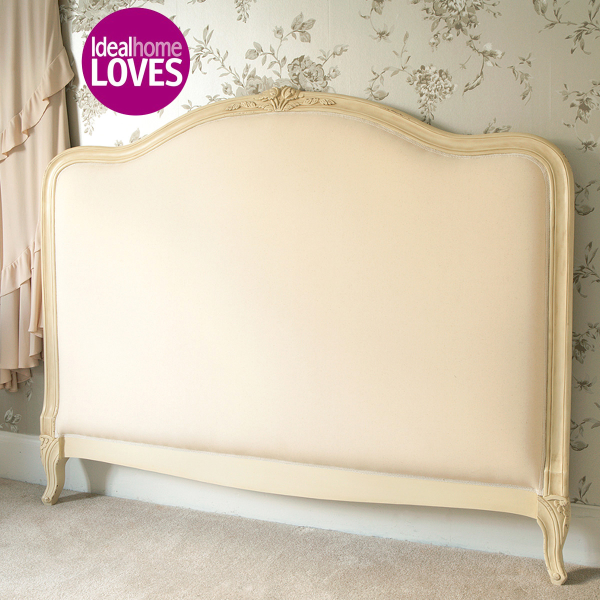 Chic Upholstered Headboards In Beige For Bed Decor Ideas