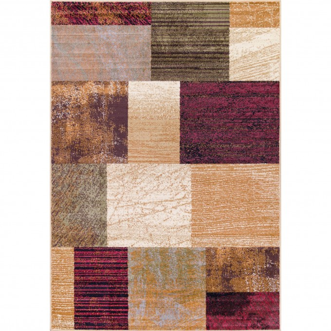 Colorful Checked 5x7 Area Rugs For Floor Decor Ideas
