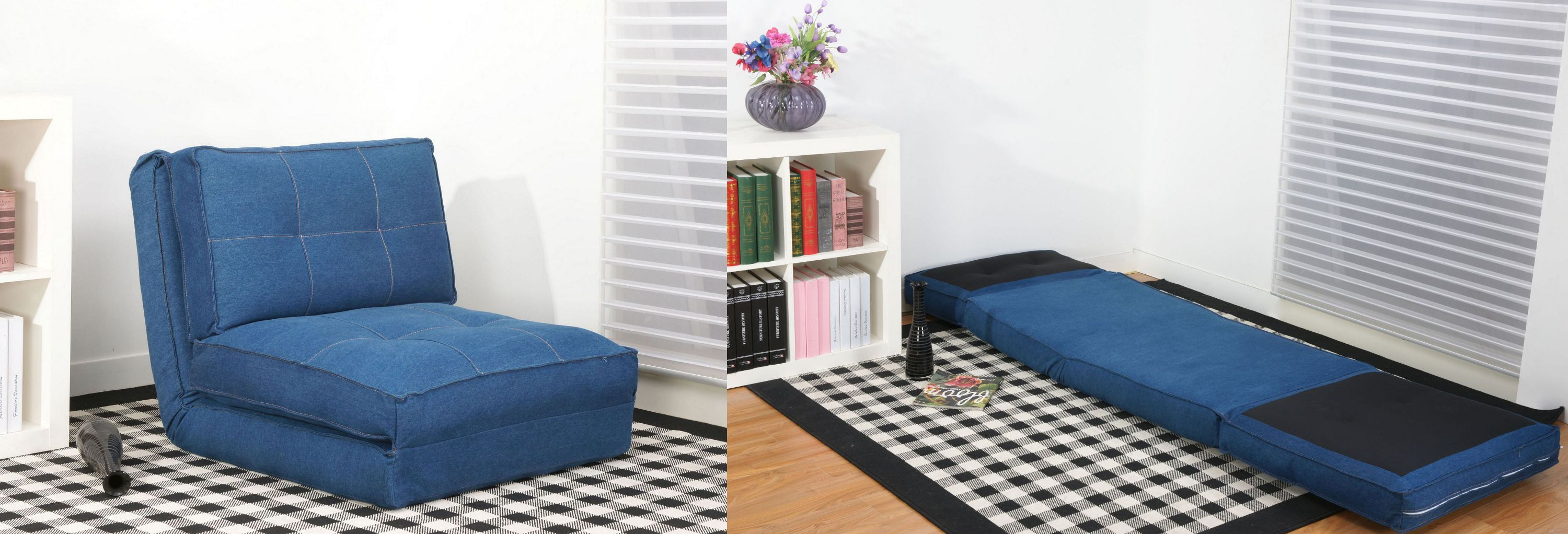 comfortable cheap futons in blue for lovely home furniture ideas