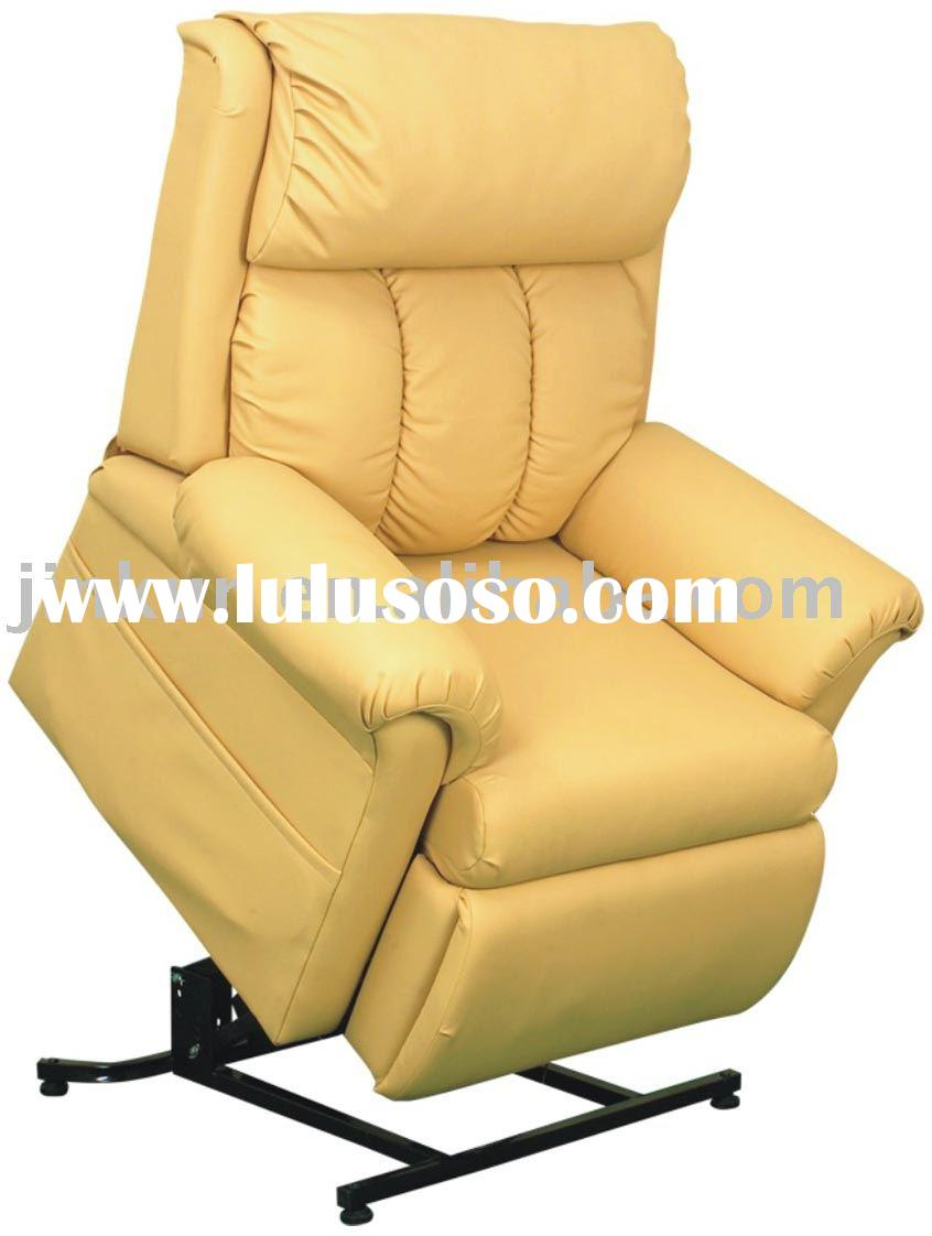 Comfortable Leather Power Lift Recliners In Yellow For Home Furniture Ideas