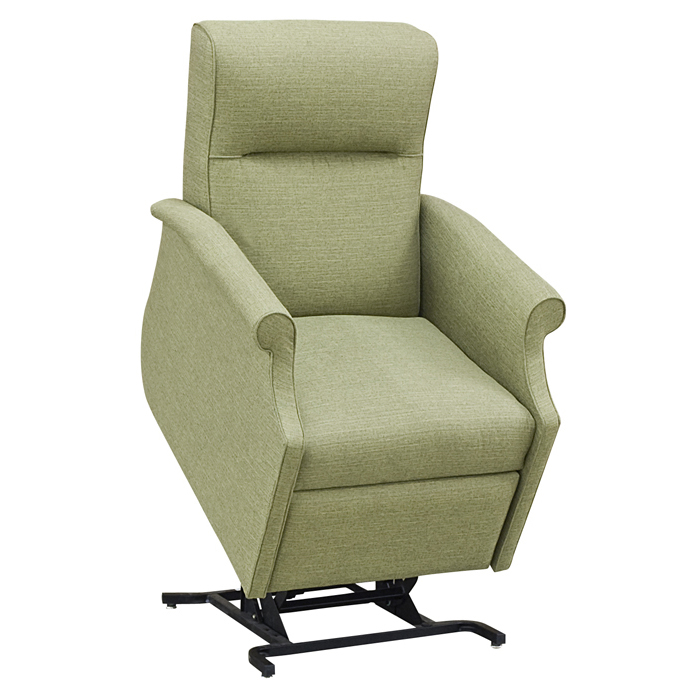 comfortable Power Lift Recliners in olive green for home furniture ideas