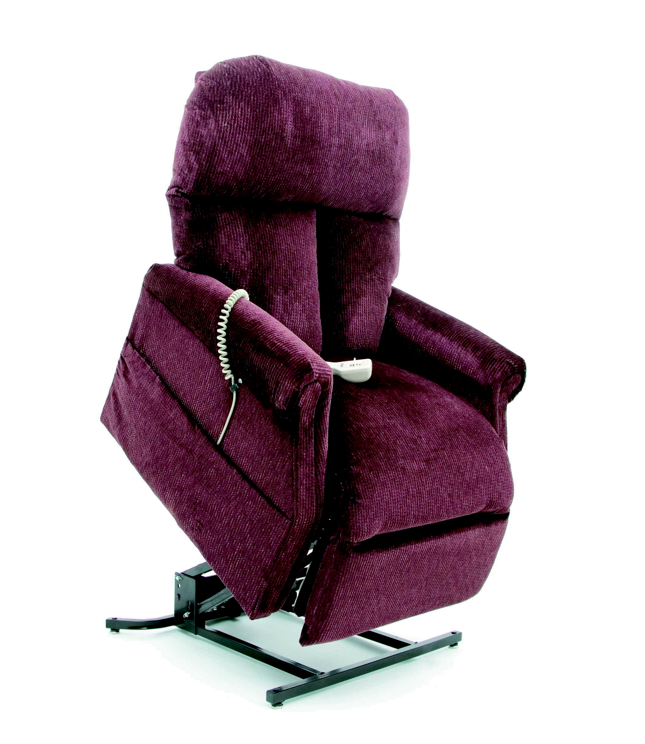 comfortable power lift recliners in purple for your healthcare equipment