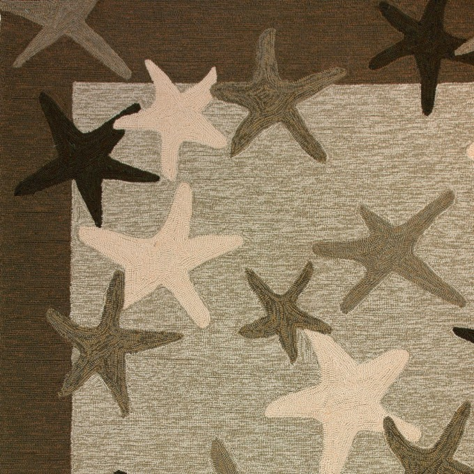 Cool 5x7 Area Rugs In Tan And Wheat With Stars Motif For Floor Decor Ideas