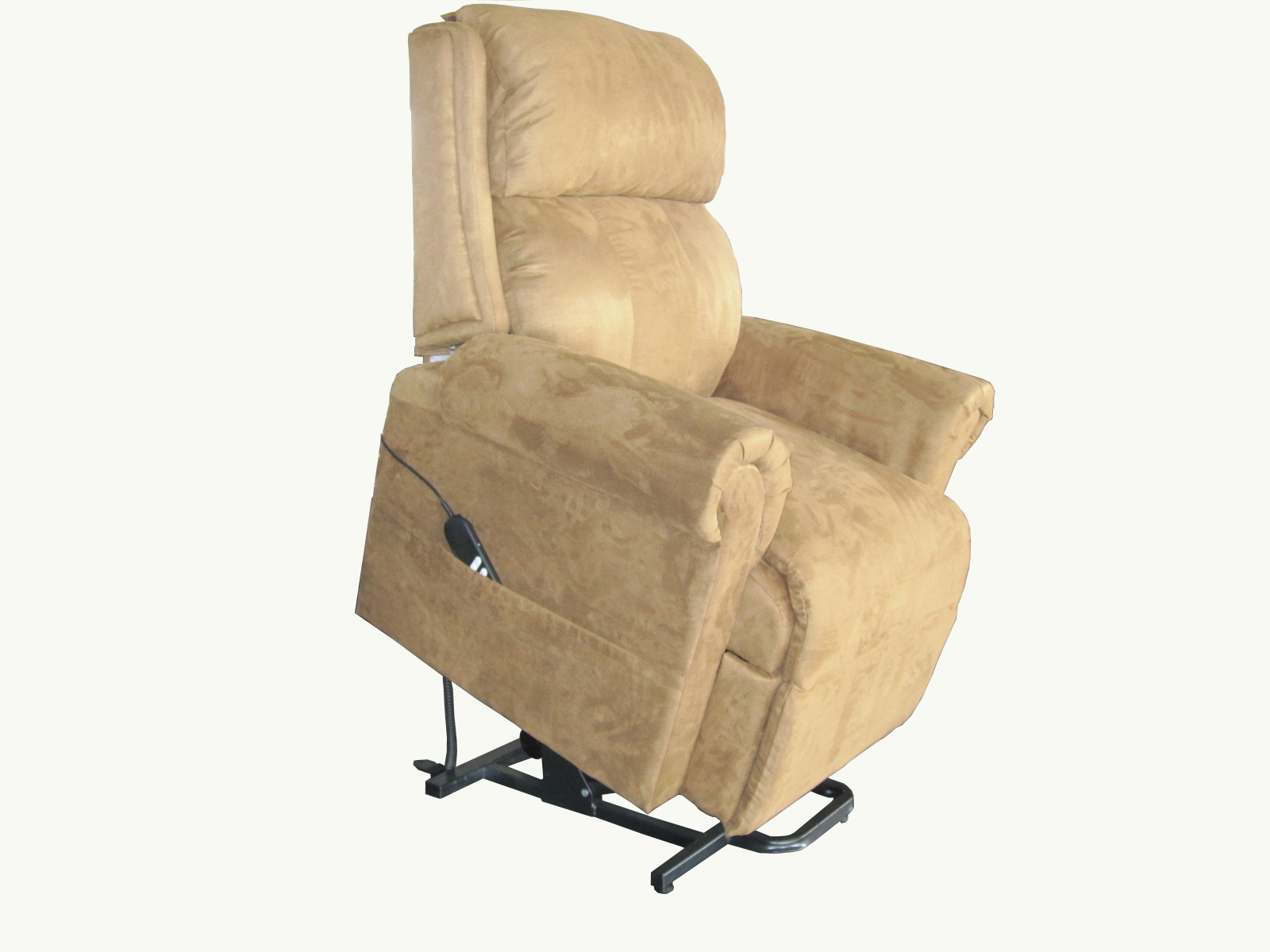 Furniture Cream Power Lift Recliners With Arms For Living Room