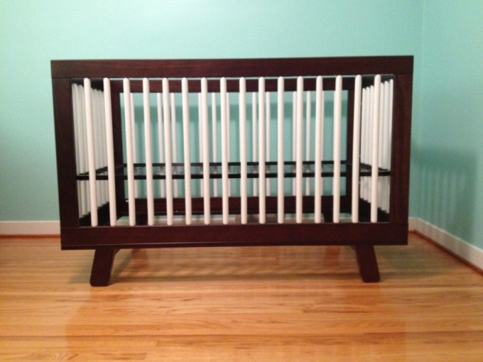 Crib In Brown And White Theme By Babyletto For Nursery Furniture Ideas