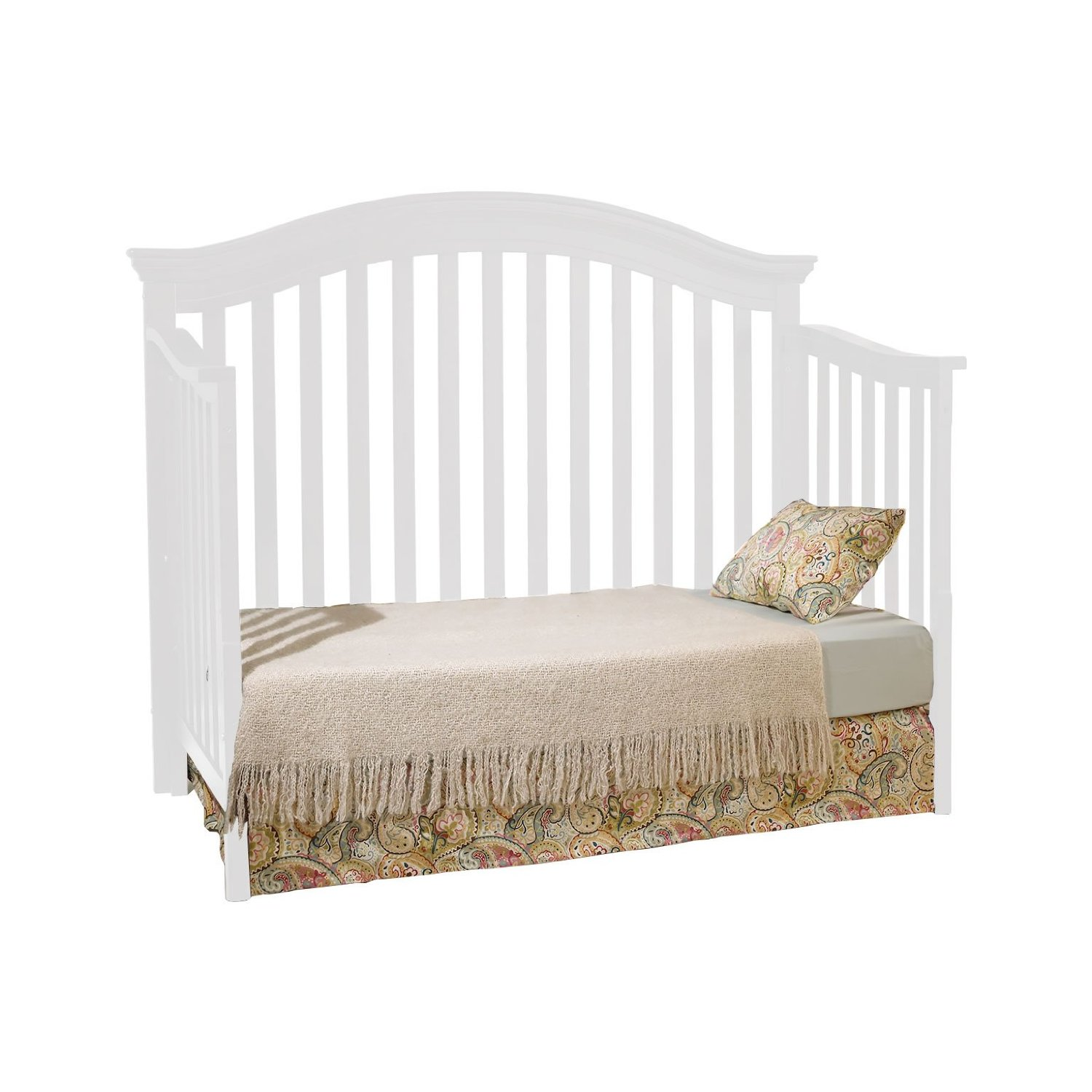 crib in white by munire crib for nursery furniture ideas