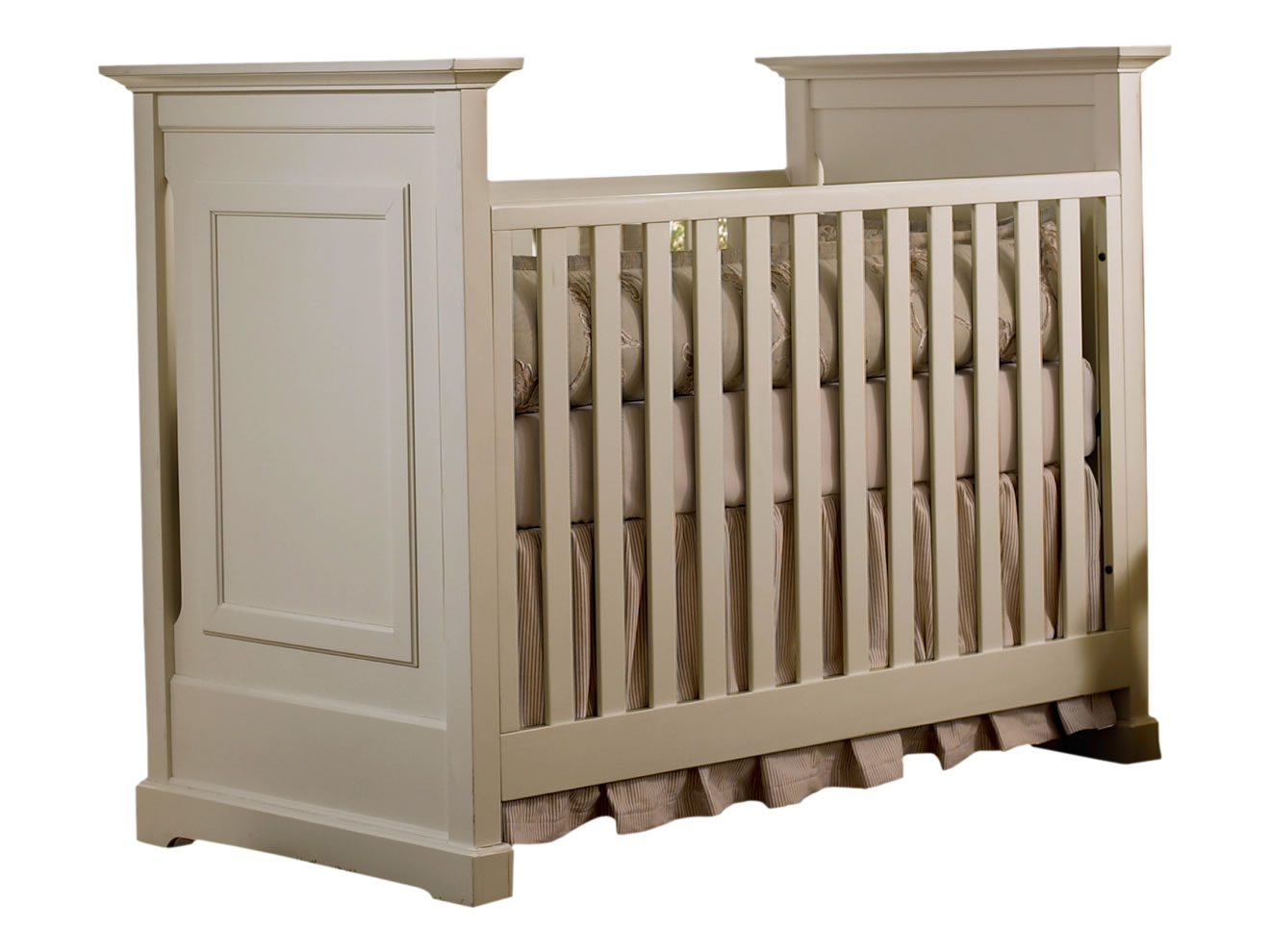 dark grey wooden crib by munire crib for nursery furniture ideas
