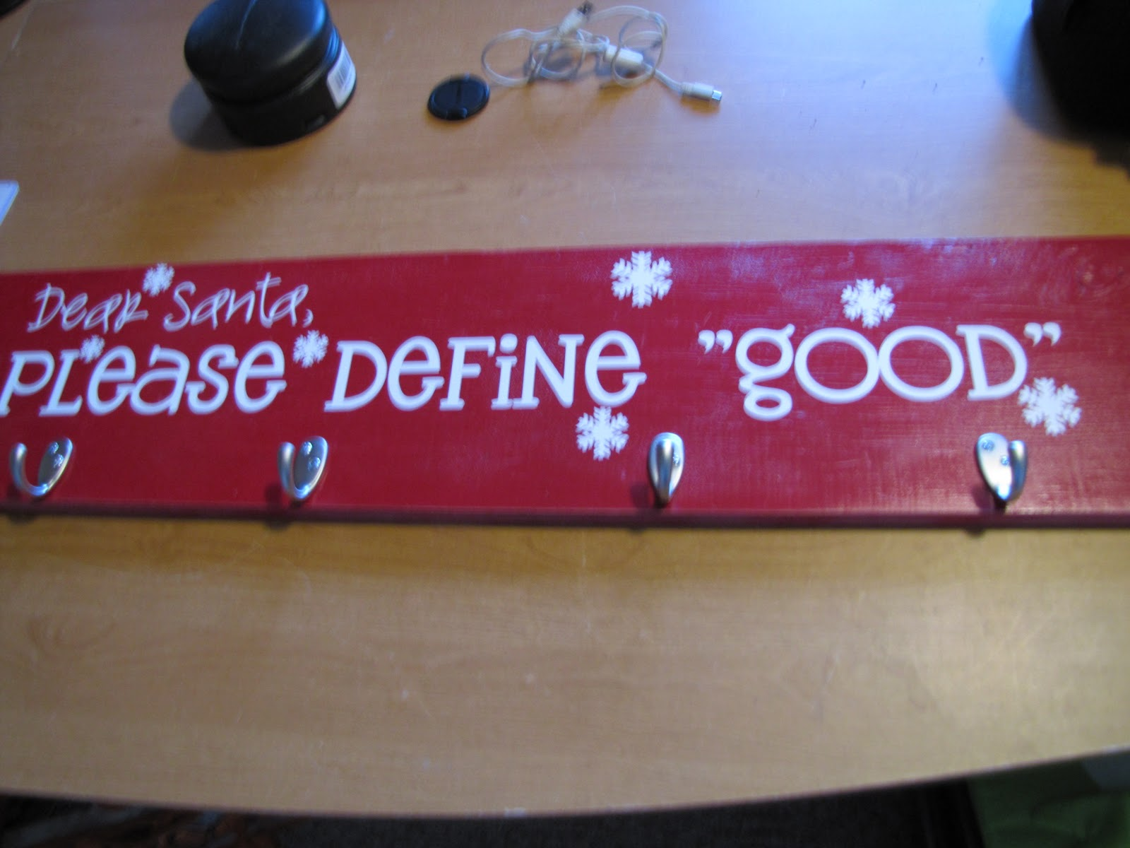 Diy Christmas Stocking Hanger With Wood And Inspiring Words Ideas