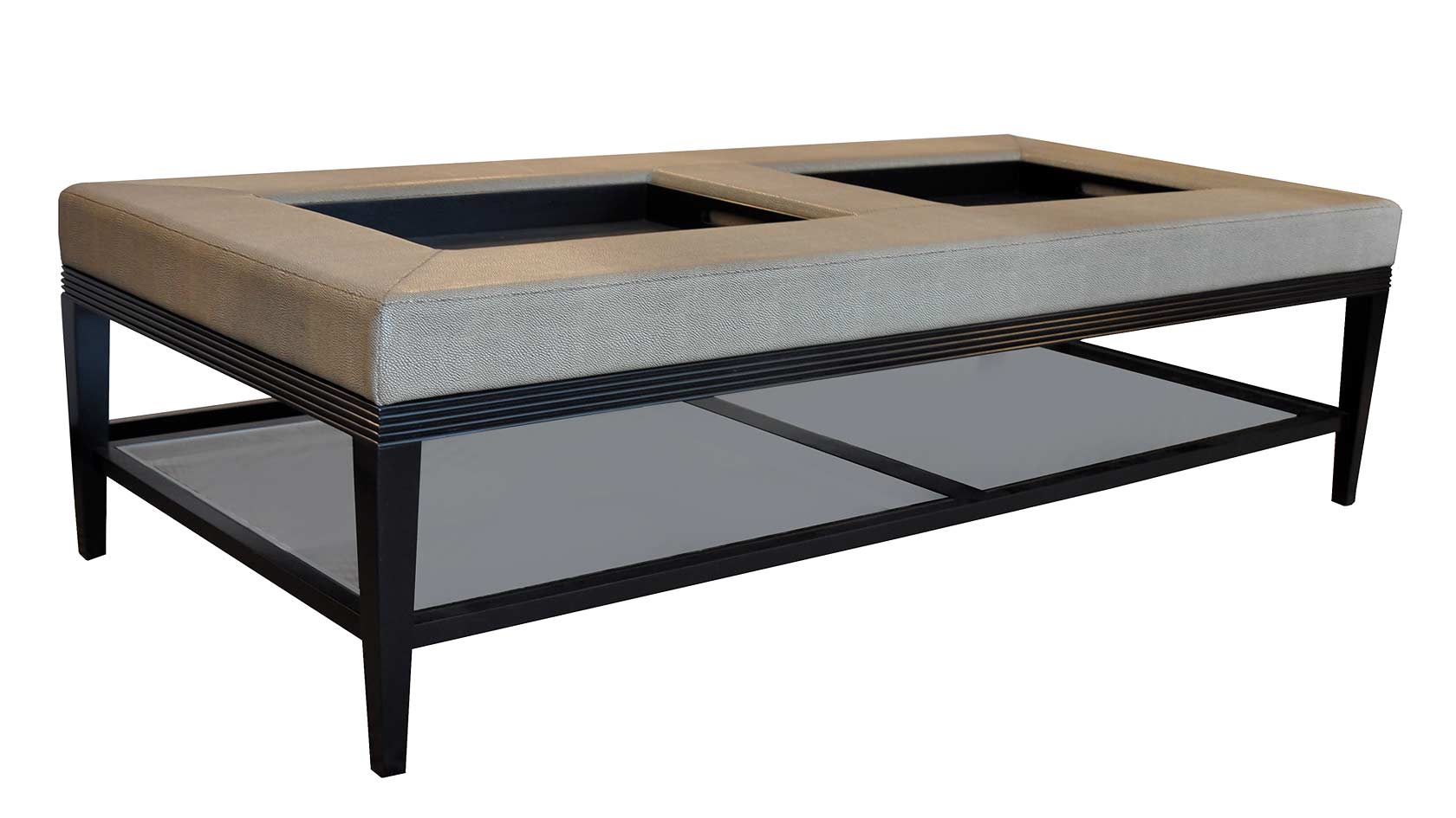 Double Coffee Table Ottoman With Double Large Ottoman Tray For Inspiring Living Room Furniture Ideas