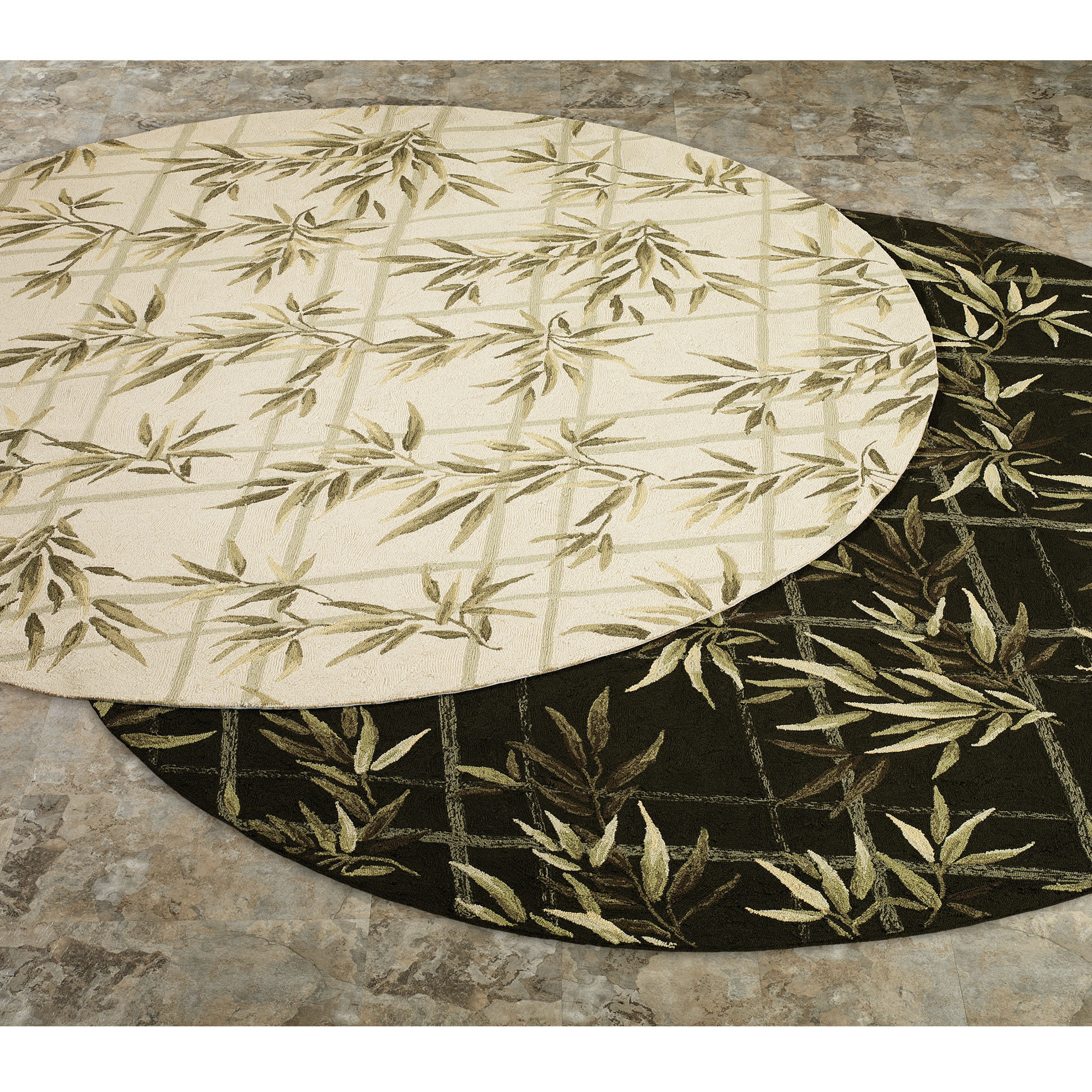 elegant lowes rugs with floral motif for floor decor ideas