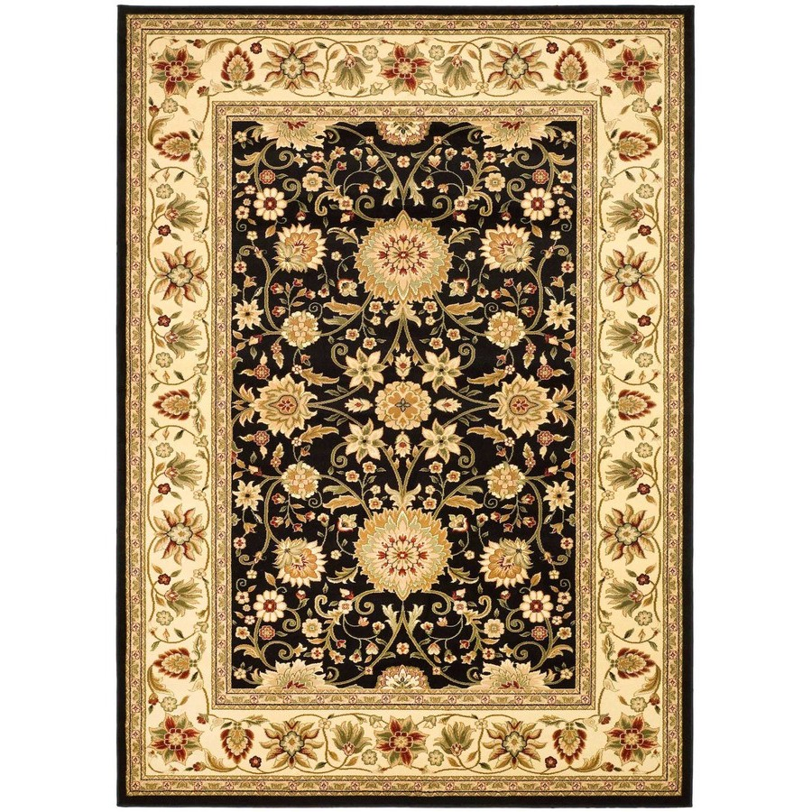 elegant lowes rugs with floral pattern for floor decor ideas