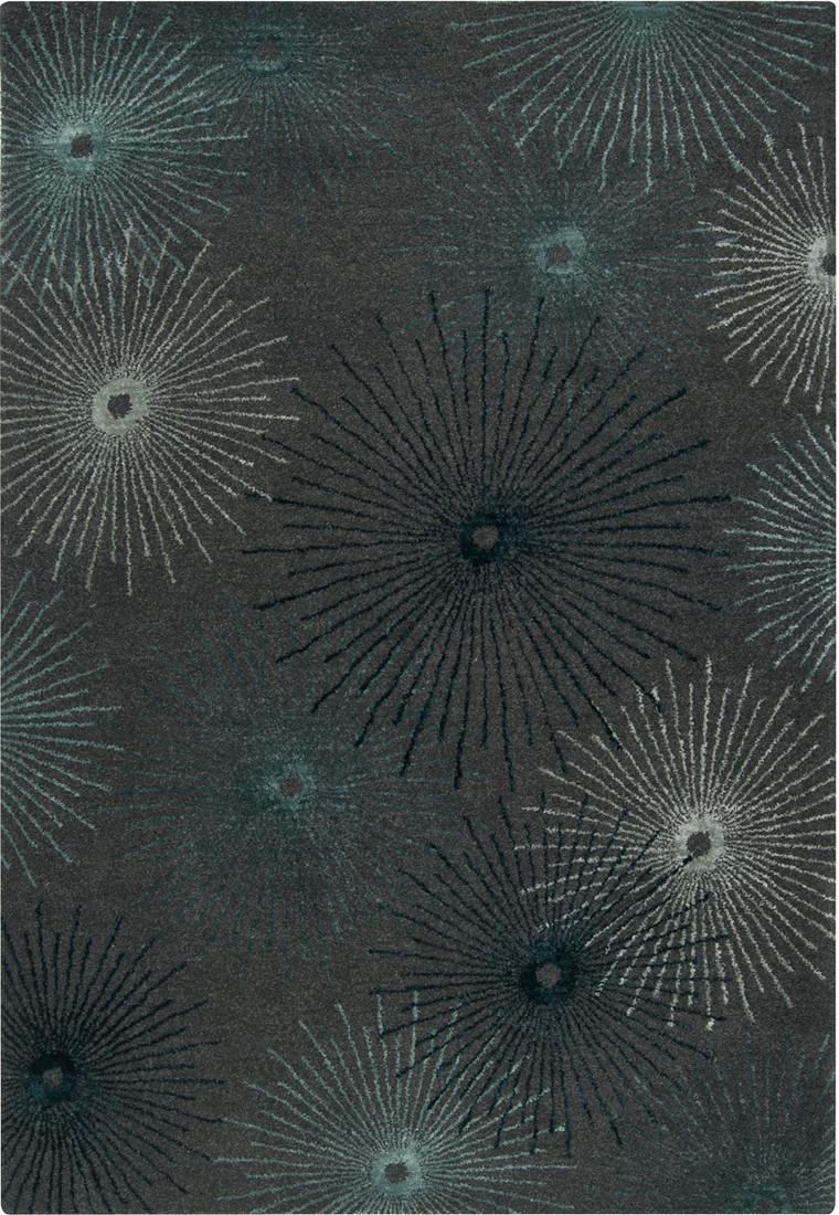 Essence ESS 7663 Surya Rugs In Grey With Sunbright Motif For Floor Decor Idaes