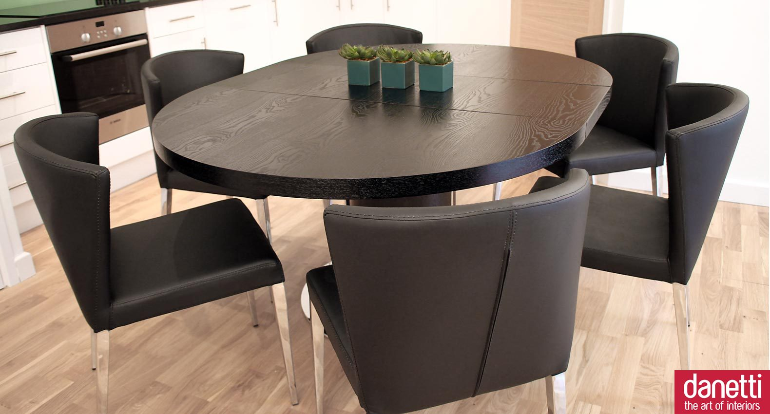 Black Dining Room Furniture Sets dining room: inspiring expandable dining table set for modern