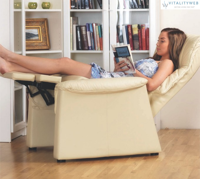Fjords 855 Zero Gravity Chair In Antique White For Home Furniture Ideas
