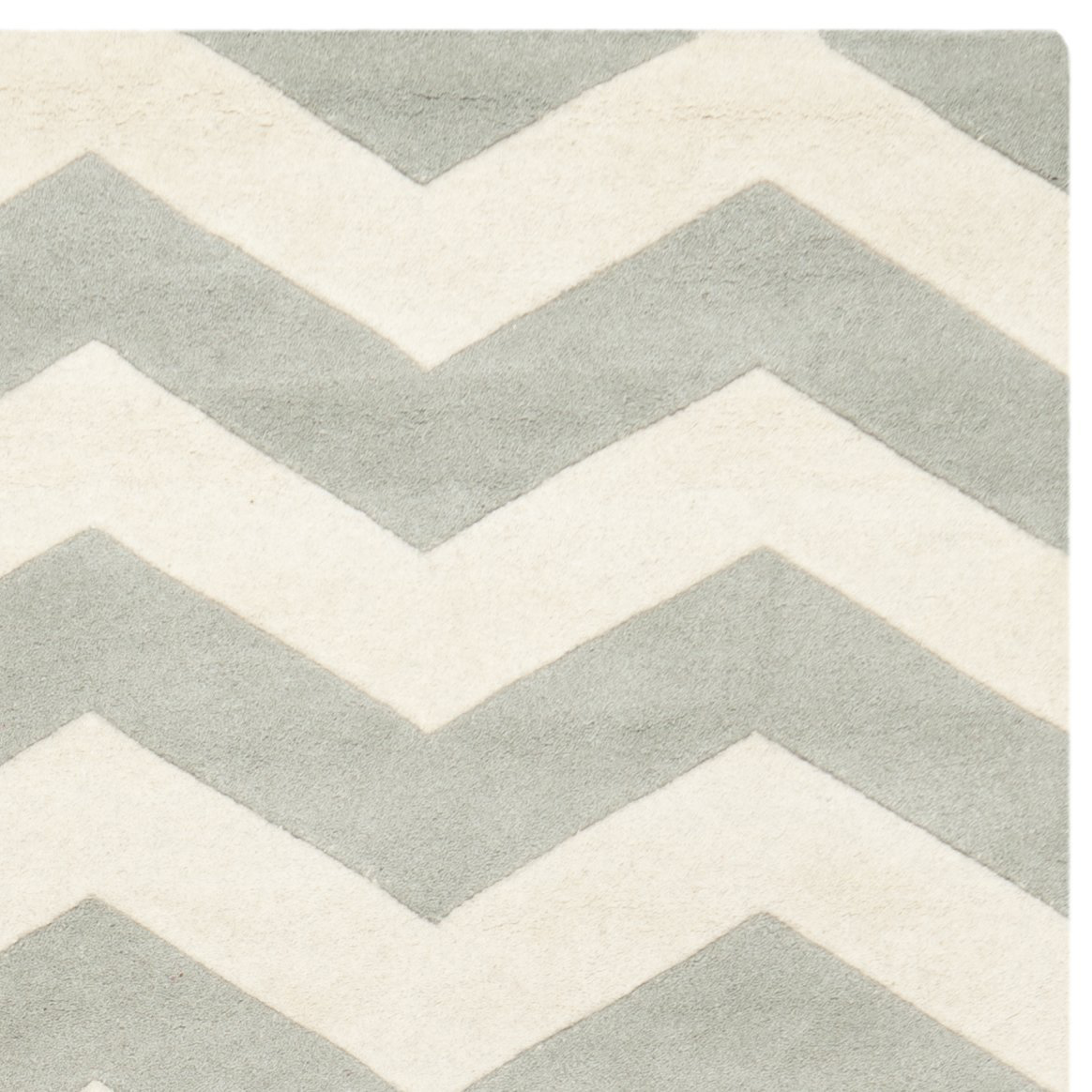 Grey And White Chevron 5x7 Area Rugs For Floor Decor Ideas
