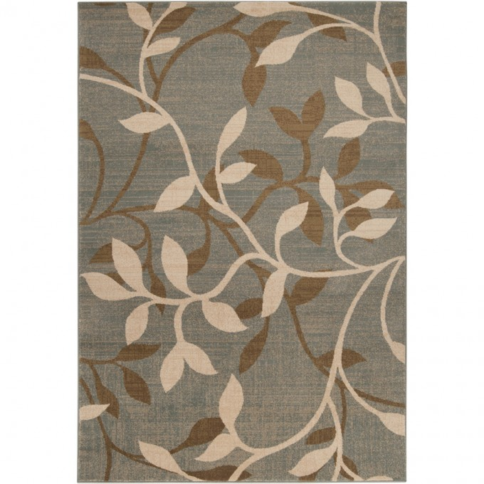 Grey Lowes Rugs With Floral Design For Floor Decor Ideas