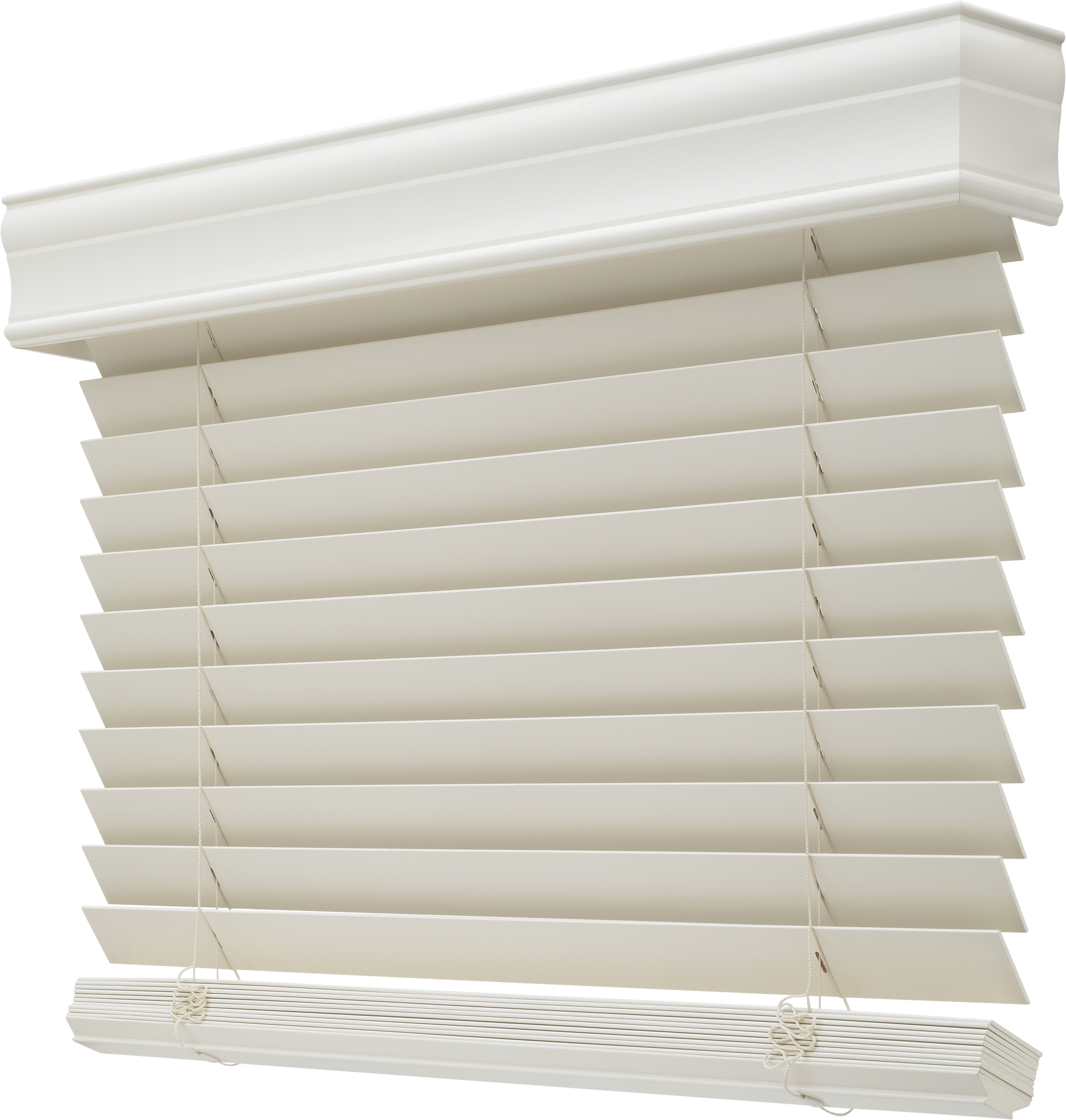 Horizontal White Levolor Blinds For Window Decor Ideas