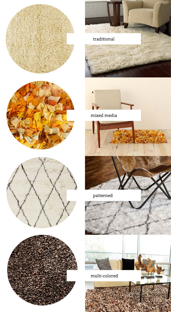 inspiring charming shag rugs for floor decor ideas