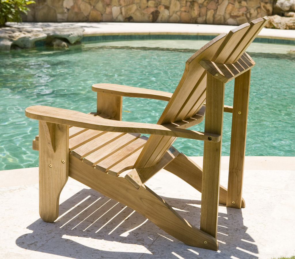 inspiring teak adirondack chairs in cream for patio furniture ideas