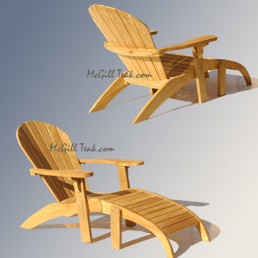 inspiring teak adirondack chairs in sandy brown for outdoor furniture ideas