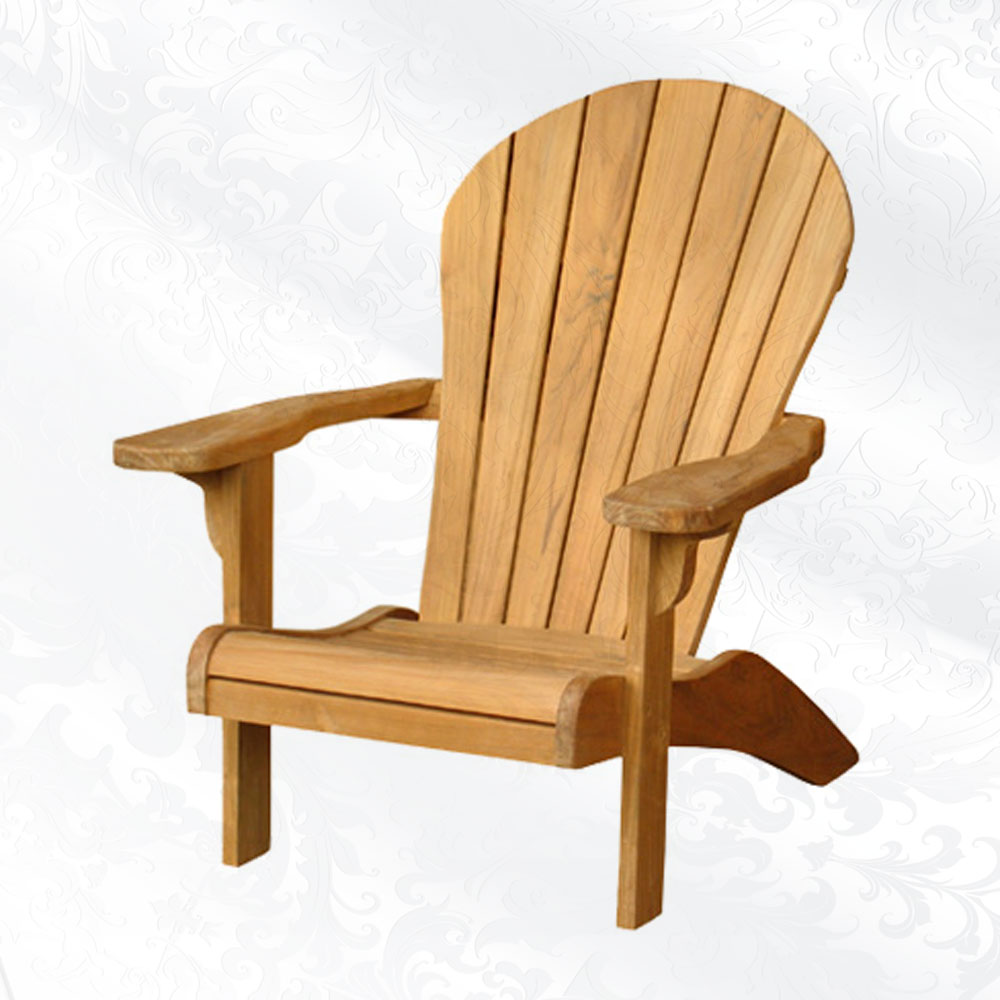 inspiring teak adirondack chairs in unique design for outdoor or patio furniture ideas