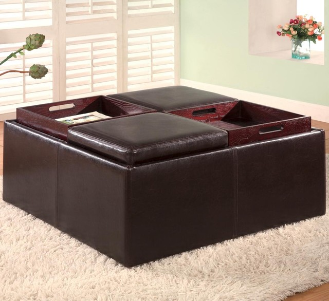 large ottoman tray for leather ottoman ideas