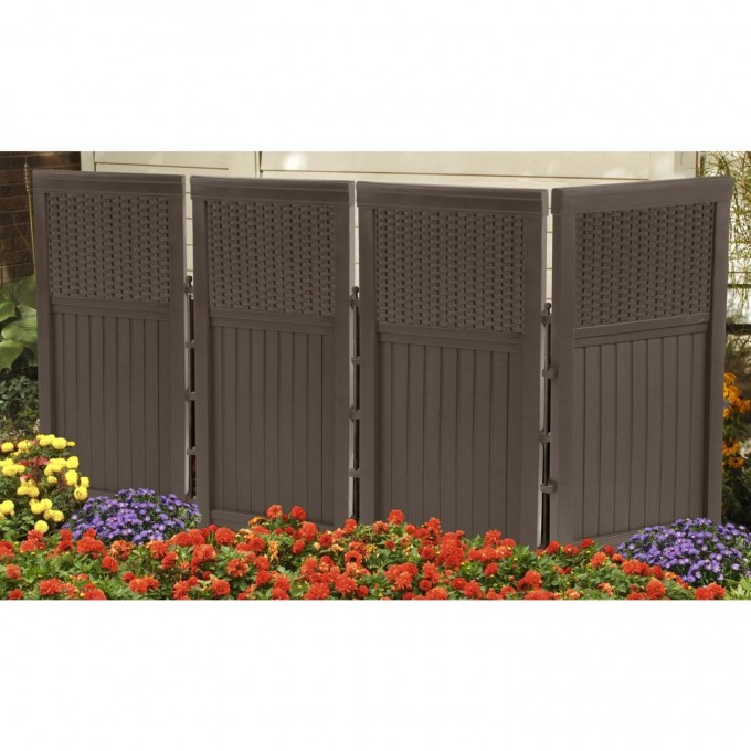 Large Suncast Deck Box Ideas In Brown For Patio Furniture Ideas