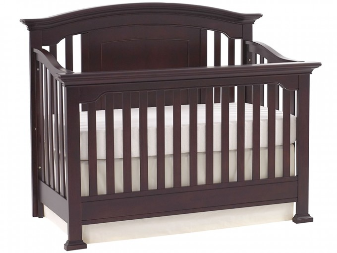 Lovely Wooden Baby Box With White Bedding By Munire Crib For Nursery Furniture Ideas