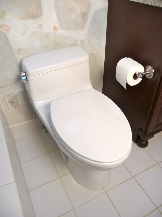 Modern Toto Toilets On White Wall Matched With White Ceramics Floor Plus Rolled Tissue For Toilet Ideas