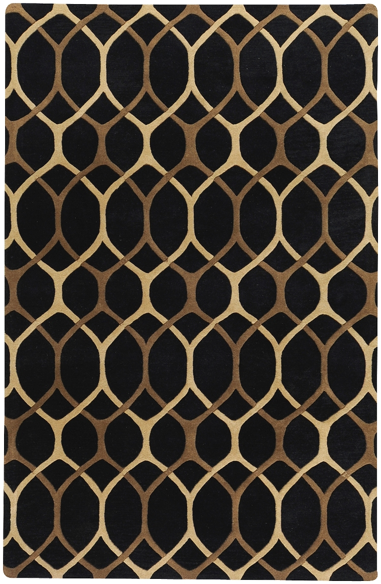 Mosaic Black Mocca Surya Rugs For Charming Floor Decor Ideas