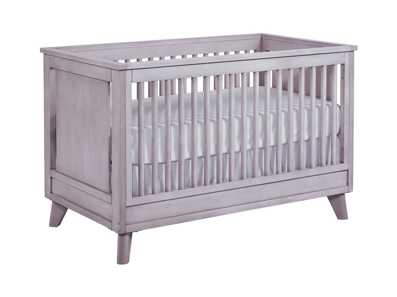munire crib in gray for nursery furniture ideas