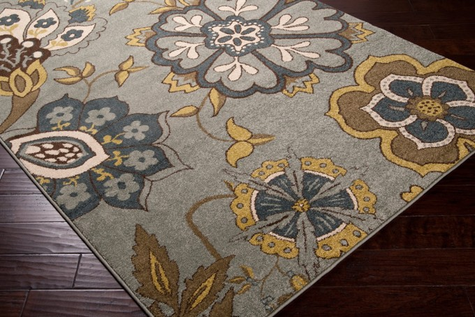 Onterey MTR 1007 Surya Rugs With Floral Motif For Floor Decor Ideas