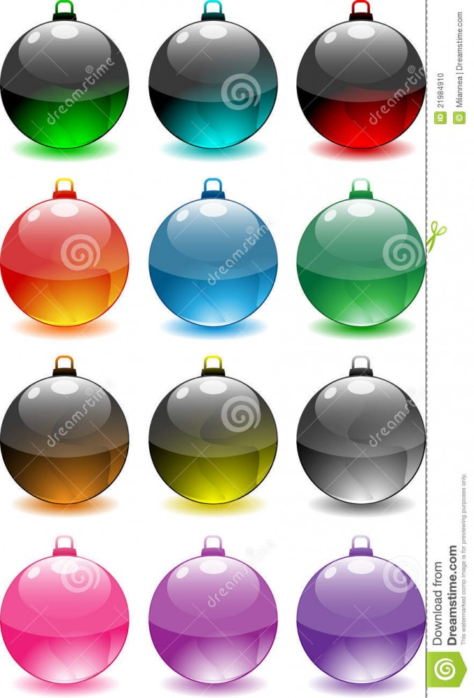 Option Colors For Decorative Orbs For Table Accessories Ideas