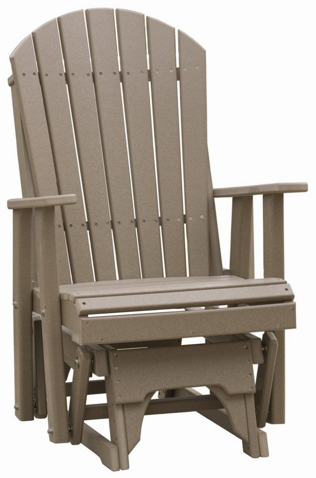 outdoor furniture ideas with Teak Adirondack Chairs in grey