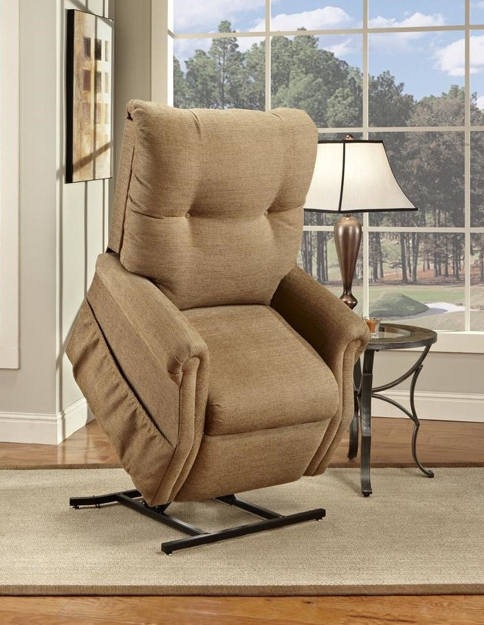 Power Lift Recliners in peru on wheat carpet plus table with table standing lamp for living room decor ideas