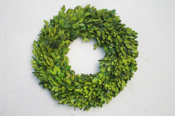 Preserved Boxwood In Circle Design For Home Accessories Ideas