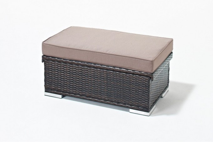 Rattan Wicker Suncast Deck Box Ideas With Tan Cushion Seat For Patio Furniture Ideas