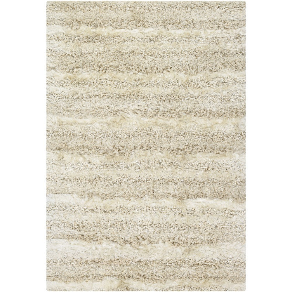 rectangle Kappa White Shag Rugs KAP15501 for floor decor ideas